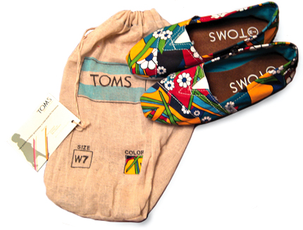 TOMS Shoes Packaging